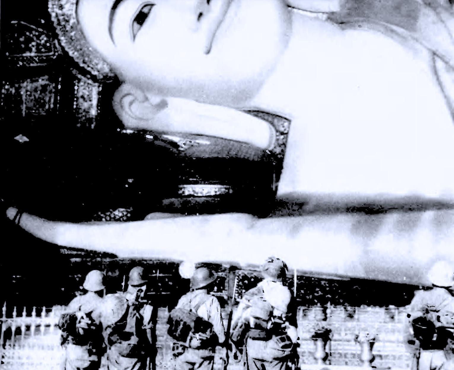 March 26, 1942 – Radio Tokyo News – Marching Through Rangoon – Ceremonies In Nanking – Mass Evacuation Of Japanese From California.