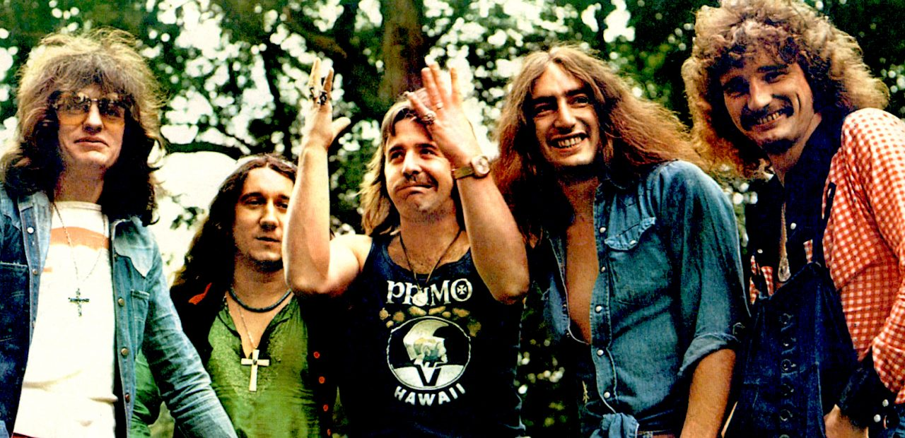 Uriah Heep - in session - 1970