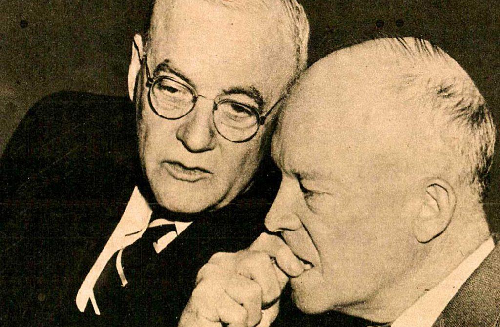 John Foster Dulles - President Eisenhower