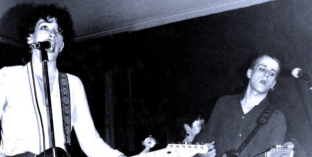 Au Pairs - live in Birmingham - 1980