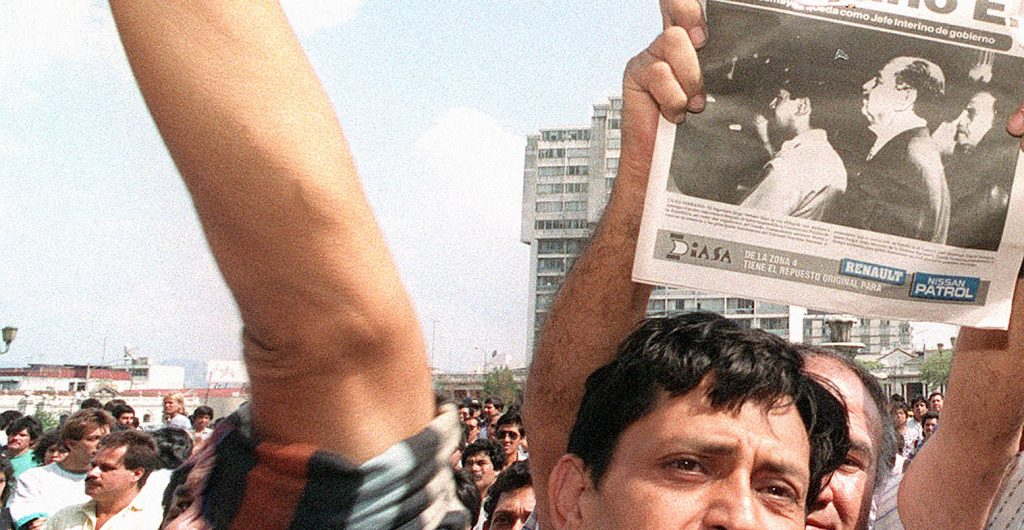 Coup In Guatemala - 1993