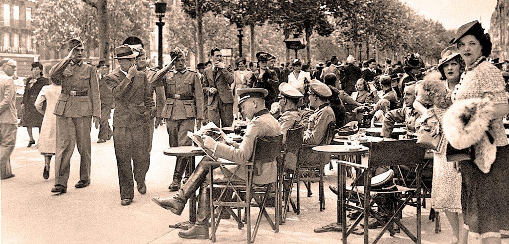 Germans in Paris - June 1940