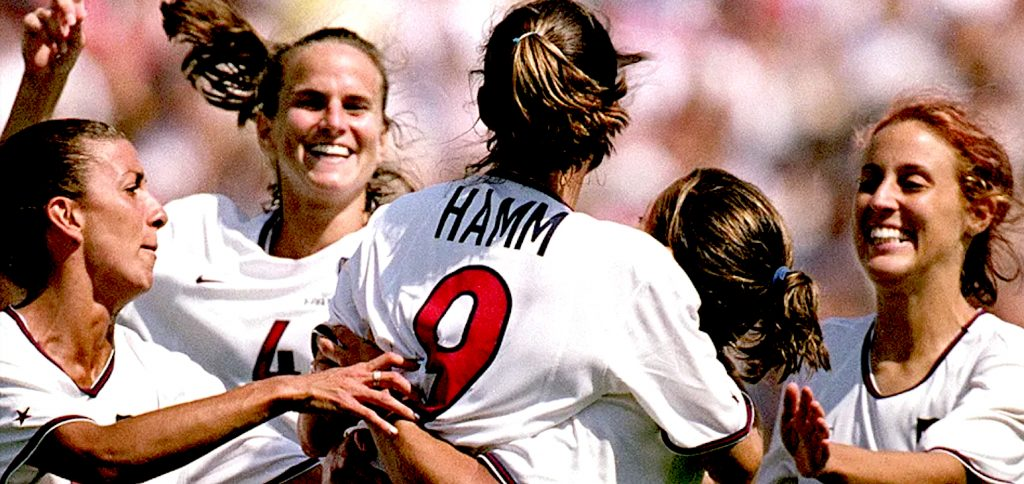 U.S Women's Soccer Team - 1999