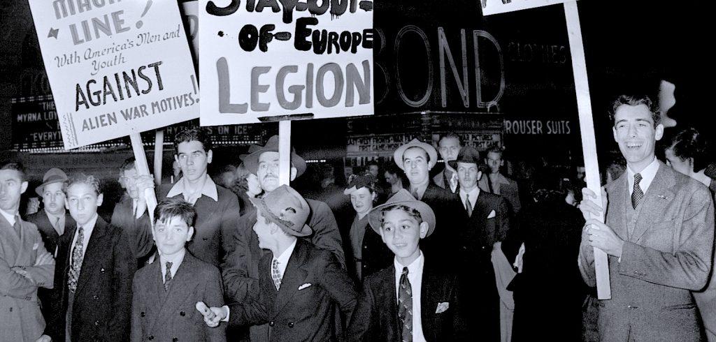 Neutrality Demonstration - 1939