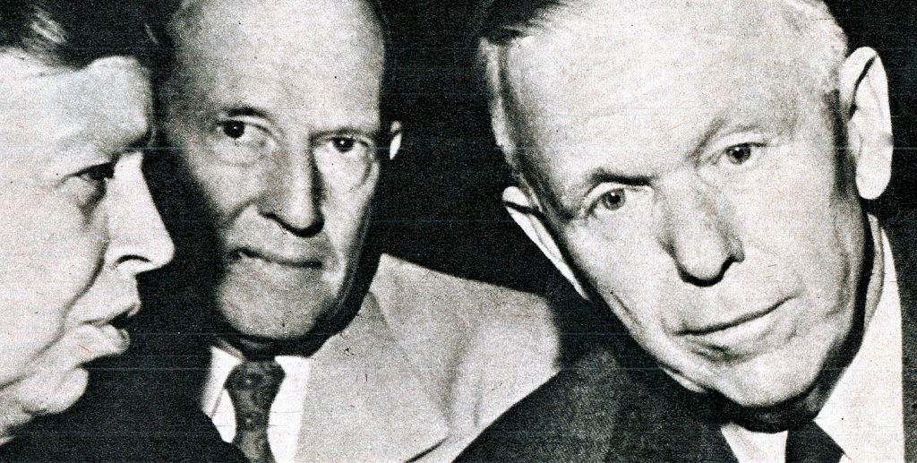 Secretary Of State George C. Marshall - 1947