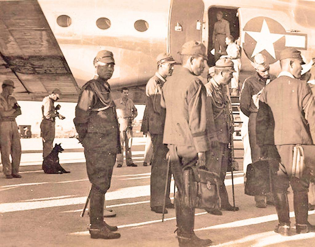 Arrival of Japanese Representatives