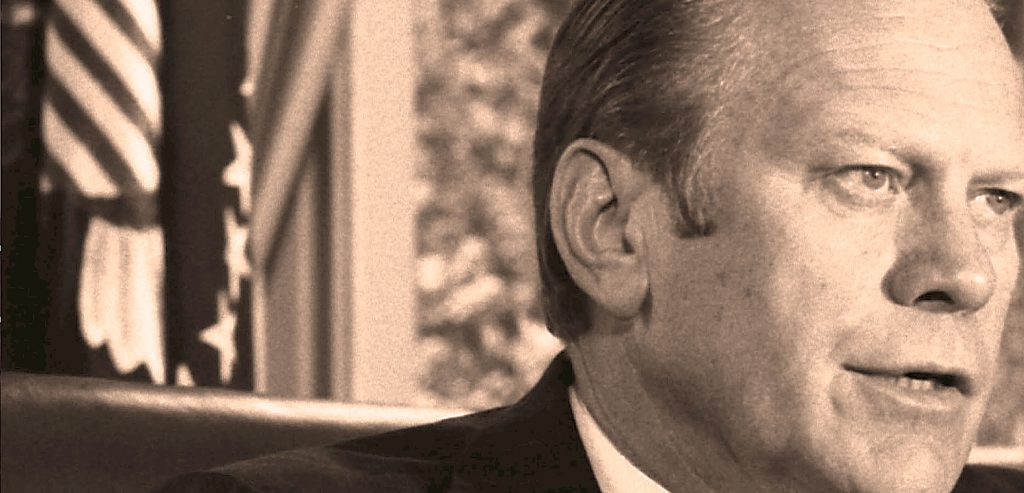 Pres. Gerald Ford - the Nixon Pardon