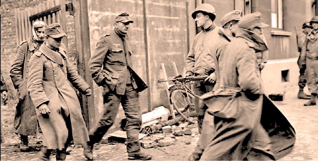Taking Prisoners In Aachen